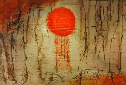 Auslaufende Sonne