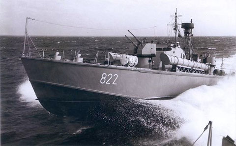 """Boot 822 Typ """"P 6"""" - Bild: Archiv Mehl"""
