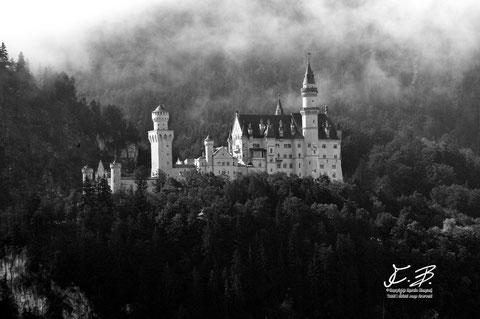 Castello Neuschwanstein a Fussen (Germania)