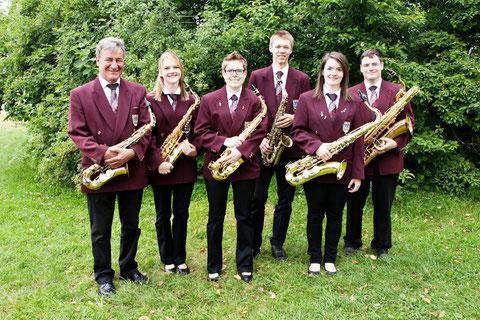 Saxophonregister Musikverein Wiechs e.V.