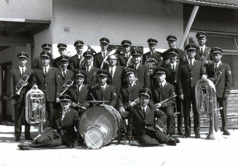 Jahr 1967 - Uniformweihe