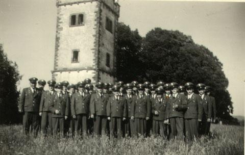 Jahr 1953 - Uniformweihe