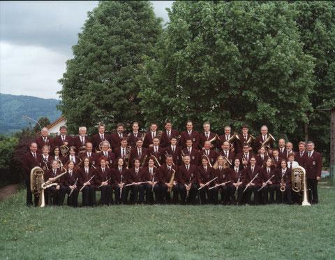 """Jahr 2002 - Jubiläumsjahr """"100 Jahre Musikverein Wiechs 1902 e.V."""""""