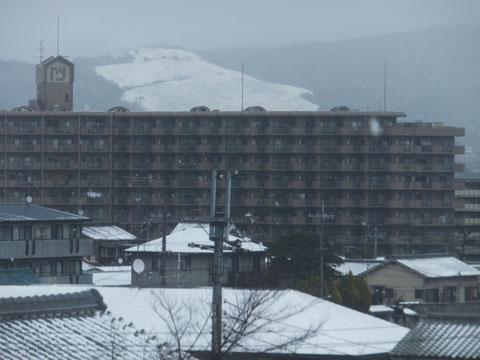 白い若草山