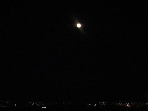 2013年9月19日(木) 午後6時半頃の東の空