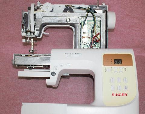 ミシン修理 シンガーミシン SN777