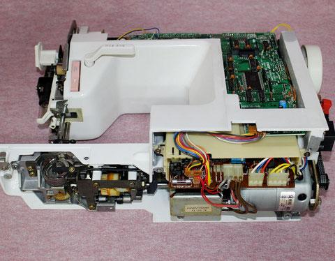 ミシン修理 ジューキミシン HZL7500