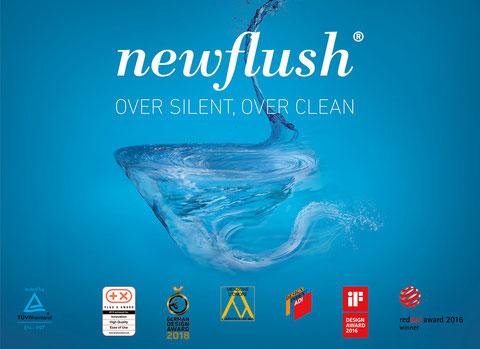 newflush - die leise WC Spülung