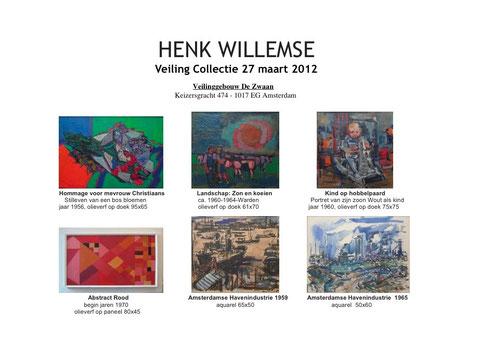 Henk Willemse: Veiling Collectie