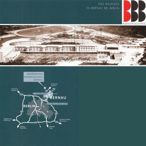BAUHAUS-ENSEMBLE von Hannes Meyer und Hans Wittwer BAUDENKMAL BERNAU
