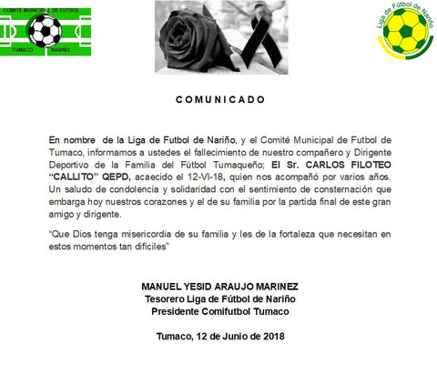 INVITACIÓN PARA SOCIALIZAR CAMPEONATOS MUNICIPALES - TORNEO PONY FUTBOL Y  FUTBOL PLAYA 2018 4c132ccc8cf05