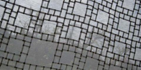 チュンポ(絹と麻の混合生地)の窓模様チョガッポ