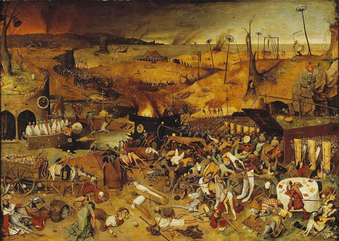 "Pieter Bruegel, ""The Triumph of Death"" (1562)"
