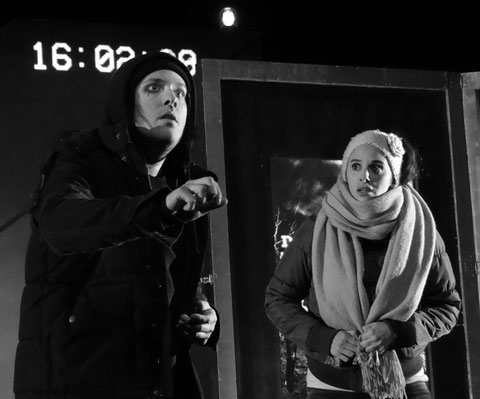 Annie Kim Thériault et David Strasbourd © Arnaud Peyraube