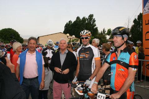 Avec Christophe Laurent et Gilles Sanders