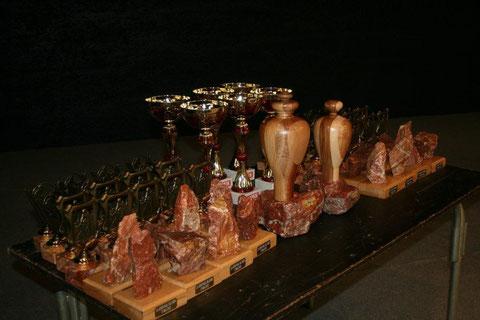 Des Trophées originaux