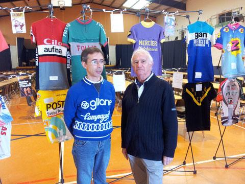 L'expo de maillots de légende