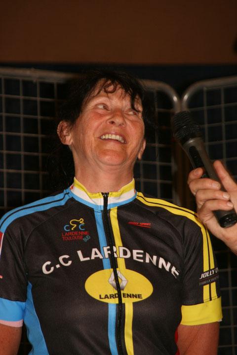 Patricia Vidal meilleure féminine du 137: il fallait lefaire