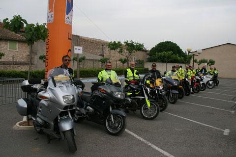 Les motards se rassemblent