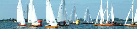 Boot fahren Friesland