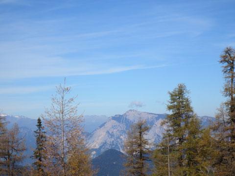 Blick zum heimatlichen Dobratsch (Villacher Alpe) in Kärnten