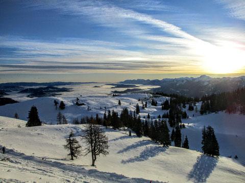 Dobratsch, Villacher Alpe, Julische Alpen,
