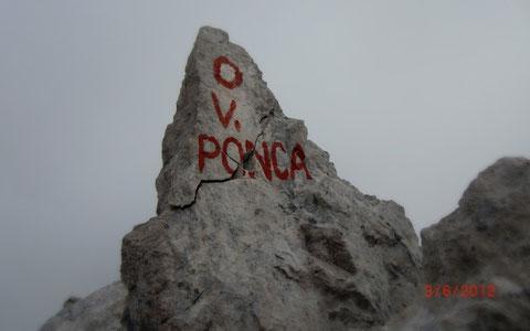 Hohe Ponza, Julische Alpen