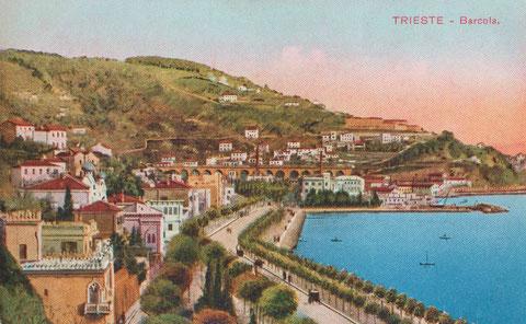 Triest - Barcola um 1910