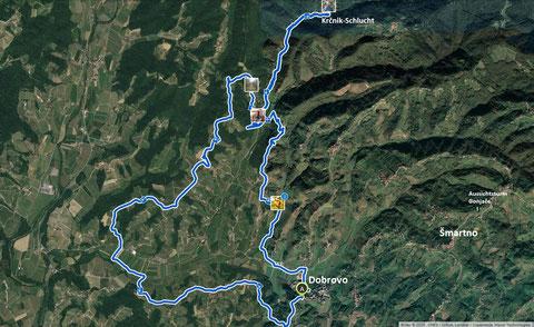 Gorska Brda, Smartno, wandern, Wanderwege