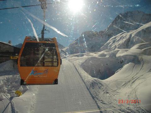 Julische Alpen, Sella Nevea, Skitour, Skigebiet, Wandern, Kanin, Gilberti