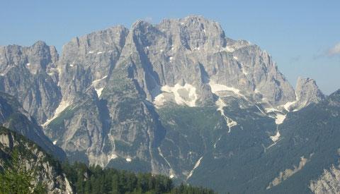 Die gewaltige Montasch Nordwand
