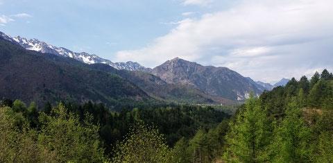 Resiatal, Val Resia, Wandern, Resiutta, Julische Alpen