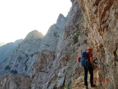 Prisank, Prisojnik, Julische Alpen