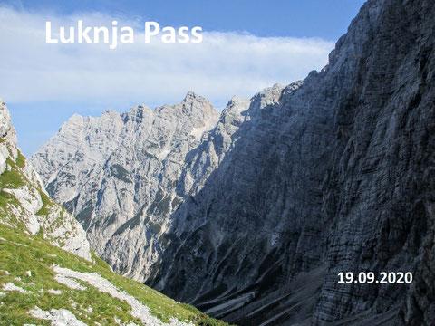 Luknja, Triglav, Trenta, Julische Alpen, Zadnjica
