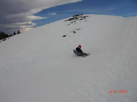 Dobratsch, Villacher Alpe, Skitour, Heiligengeist, Zehner, Alpenstraße, Maut, Rodeln
