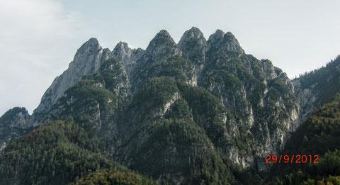 Raibler Fünfspitz, Raibl, Predil, Julische Alpen