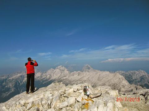 Prisank, Prisojnik, Julische Alpen, Klettersteig