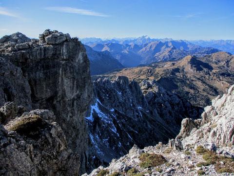 Karnische Alpen, Gipfel, Felsen