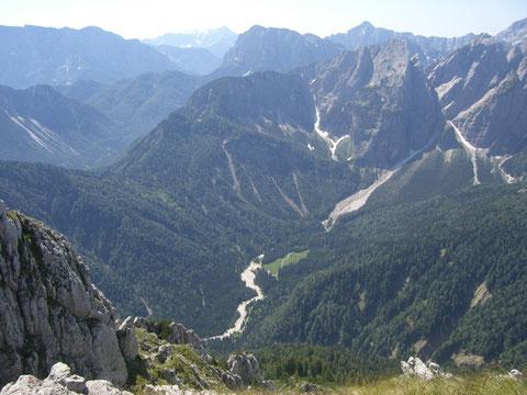 Julische Alpen, Luschari