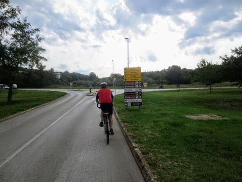 Rovinj, Porec, Istrien, Fahrrad, Bike