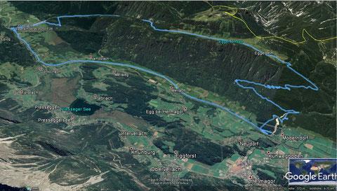 Egger Alm, Gailtal, Hermagor, Mountainbike