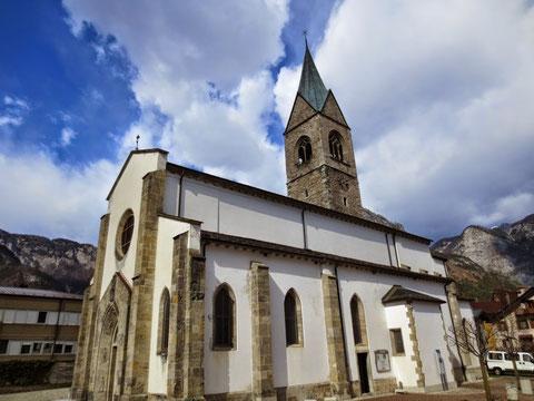 Die italienische Pfarrkirche S. Maria Maggiore  in Pontebba