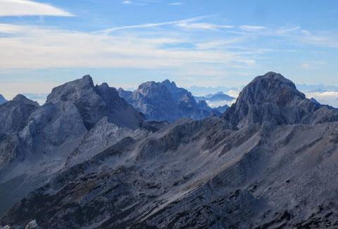 Prisojnik, Prisank, Julische Alpen, Klettersteig