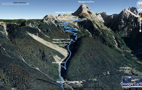 Julische Alpen, Triglav Nationalpark, Mangart