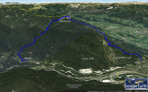Göriacher Alm, wandern, Karnische Alpen