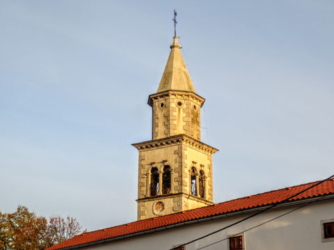 Lokev, Kirche, Lipica, Alpe Adria Trail