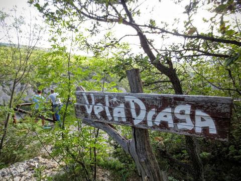 Vela Draga, Ucka, Istrien