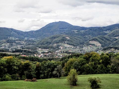 Boc, Rogaska Slatina, Slowenien, Berg
