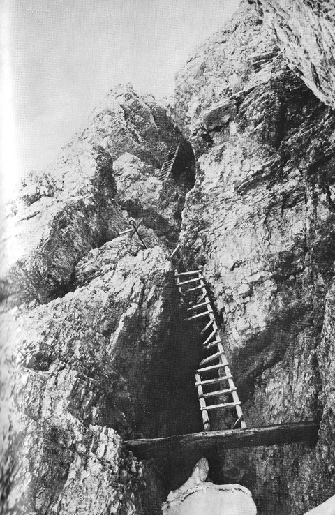 Toblinger Knoten, Dolomiten, Drei Zinnen, Klettersteig