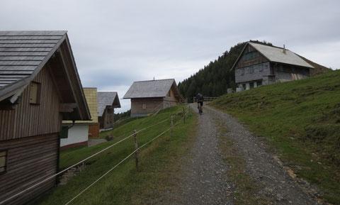 Achomitzer Alm, Karnische Alpen, Mountainbike, Radtour